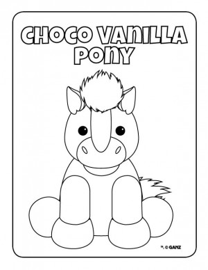 webkinz pets coloring pages - photo#9