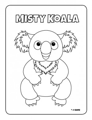 webkins coloring pages | Coloring Pages | WKN: Webkinz Newz