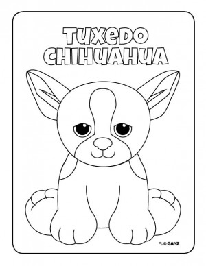 webkinz pets coloring pages - photo#22