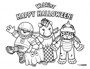 webkinz pets coloring pages - photo#43