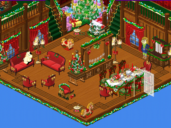 Visit Sophie In The Victorian Christmas Clubhouse Room