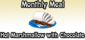 monthlymeal-hotmarshmallow with chocolate