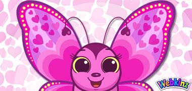 The Lovely Butterfly has landed in Webkinz World!