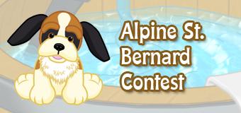 Win an Alpine St. Bernard!
