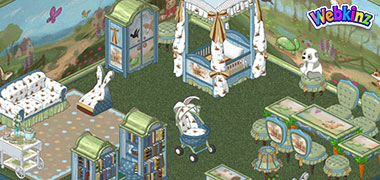 NEW Storybook room theme has arrived in Webkinz World!
