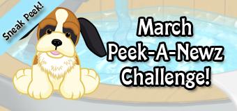 March's Peek-A-Newz Sneak Peek