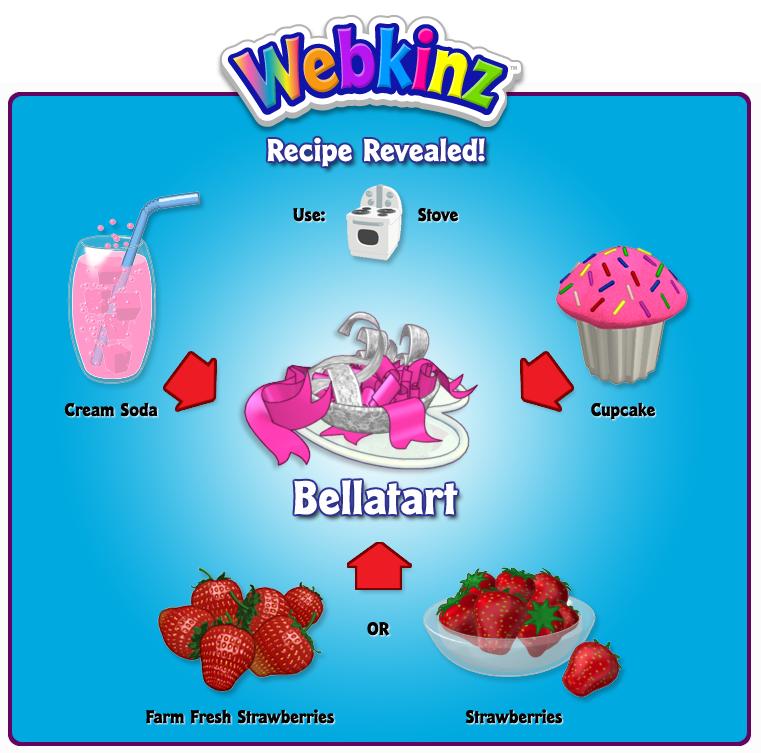Bellatart recipe revealed wkn webkinz newz 36 responses to bellatart recipe revealed forumfinder Image collections