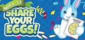 share your eggs - easter egg design contest feature