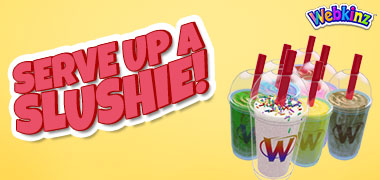 A Super New Slushie Machine in time for Webkinz Day!