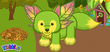The Earthly Fox has arrived in Webkinz World!