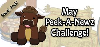 May's Peek-A-Newz Challenge Sneak Peek
