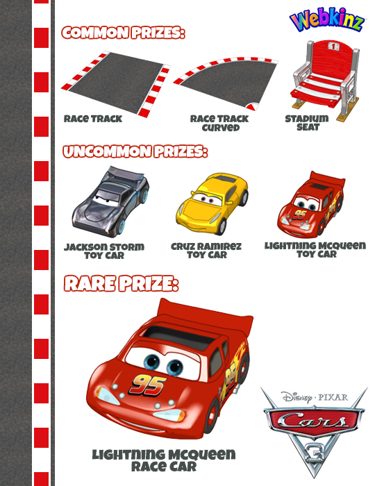 Find The Floating Lightning Mcqueen Car And Win Wkn Webkinz Newz