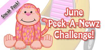 June's Peek-A-Newz Challenge Sneak Peek