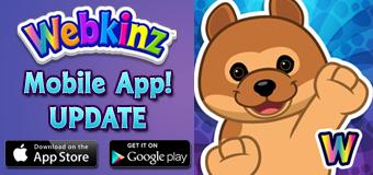 Webkinz Mobile App UPDATE!