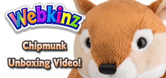 Webkinz Chipmunk Unboxing Video!