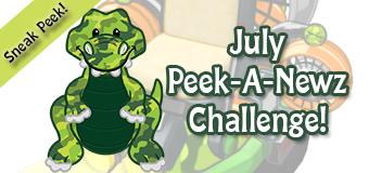 July's Peek-A-Newz Challenge Sneak Peek