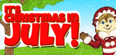 It's Christmas in July at eStore!!
