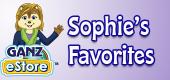 sophie's favorites feature