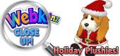 WEBKIN CLOSE UP - Holiday Plushies - Featured