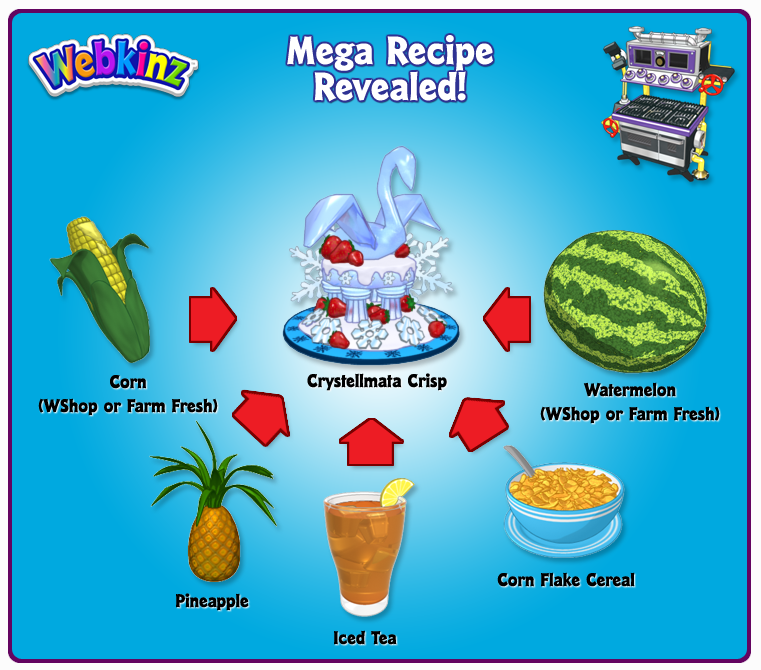 Crystellmata crisp mega secret recipe revealed wkn webkinz newz since this is a previously unsolved recipe forumfinder Choice Image