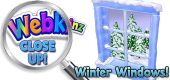WEBKINZ CLOSE UP - Winter Windows - Featured