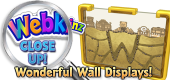 WEBKINZ CLOSE UP - Wall Displays - Featured copy