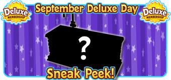 2018 September Deluxe Days Featured Image SNEAK PEEK