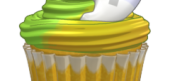 Friends Banana Apple Cupcake