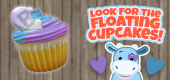 Click on the Purple Cow for a free Friends cupcake!