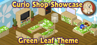 Green Leaf Room Theme - Featured Image