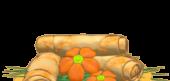 Orange Spring Rolls