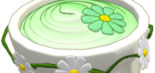 Sweet Springtime Green Custard