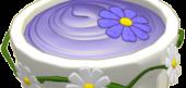 Sweet Springtime Purple Custard