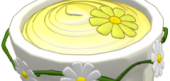 Sweet Springtime Yellow Custard