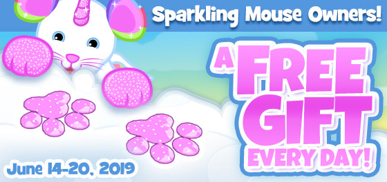 Sparkling_mouse_Free_gift_feature