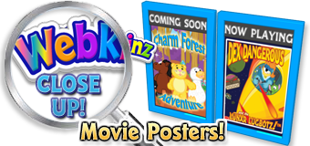 WEBKINZ CLOSE UP - Movie Posters - Featured