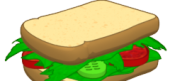 Loose Leaf Sandwich
