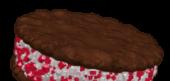 Minty Cookie Sandwich