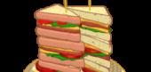 Towering Triple Decker Sandwich