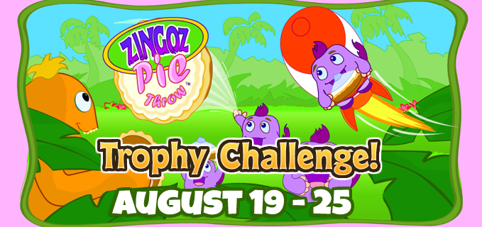 Zingoz Pie Throw Trophy Challenge FEATURE