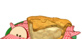 Slice of Fresh Apple Pie