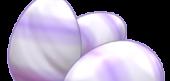 Purple Playful Jelly Eggs