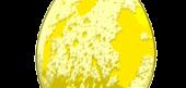 Yellow Chocolate Egg