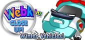 WEBKINZ CLOSE UP - Winter Vehicles - Featured