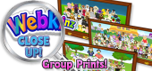 WEBKINZ CLOSE UP - Group Prints - Featured