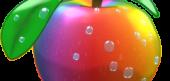 Rainbow Candy Apple