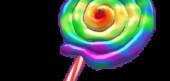 Rainbow Lolly