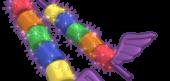 Rainbow Marshmallow Kebobs