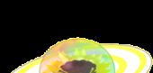 Rainbow Raindrop Cake