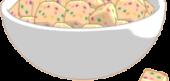 Rainbow Shortbread Bites
